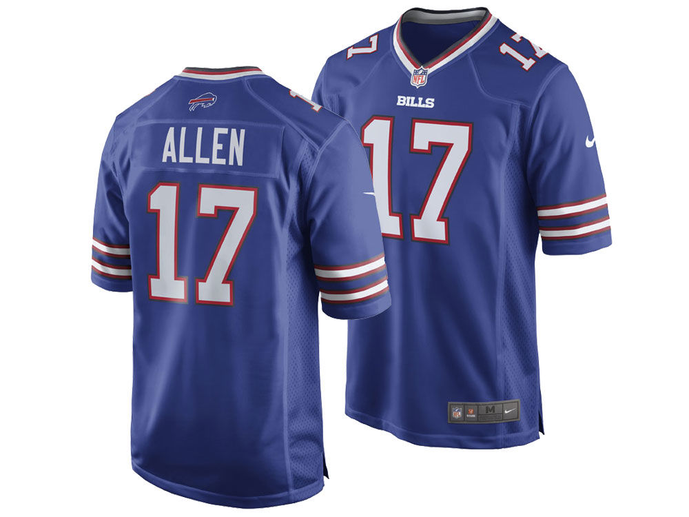 47d58be6e Buffalo Bills Josh Allen Nike NFL Men s Game Jersey