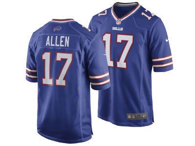 Buffalo Bills Josh Allen Nike NFL Men's Draft Game Jersey