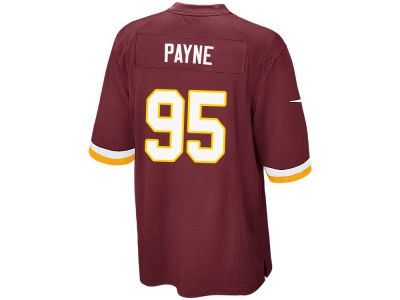 Washington Redskins Da'Ron Payne Nike NFL Men's Game Jersey