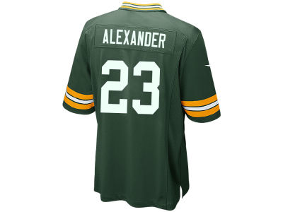 Green Bay Packers Jaire Alexander Nike NFL Men's Draft Game Jersey