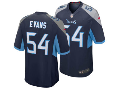Tennessee Titans Rashaan Evans NFL Men's Draft Game Jersey