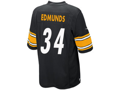 Pittsburgh Steelers Terrell Edmunds NFL Men's Draft Game Jersey