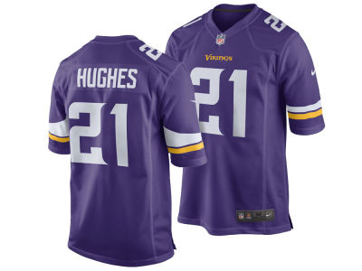 Minnesota Vikings Mike Hughes NFL Men's Draft Game Jersey