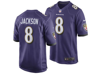 Baltimore Ravens Lamar Jackson Nike NFL Men's Draft Game Jersey