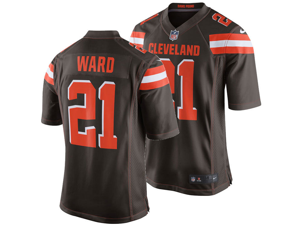 88ed264aa Cleveland Browns Denzel Ward Nike NFL Men s Game Jersey
