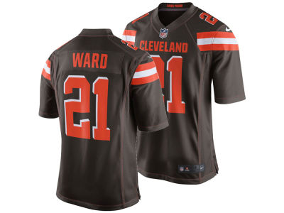 Cleveland Browns Denzel Ward NFL Men's Draft Game Jersey