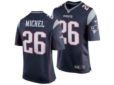 New England Patriots Sony Michel NFL Men's Draft Game Jersey