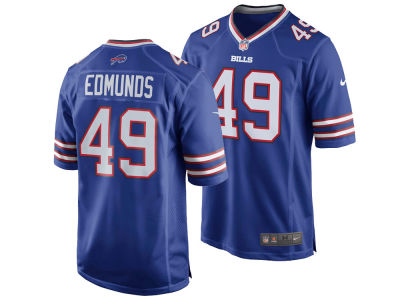 Buffalo Bills Tremaine Edmunds NFL Men's Draft Game Jersey