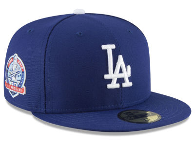 Los Angeles Dodgers New Era MLB Authentic Collection 60th Anniversary 59FIFTY Cap