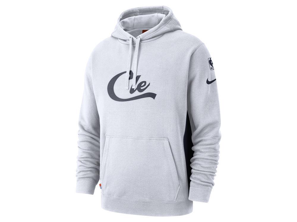 Cleveland Cavaliers Nike 2018 NBA Men s Earned Edition Courtside Hoodie  2f4b74b3ec2