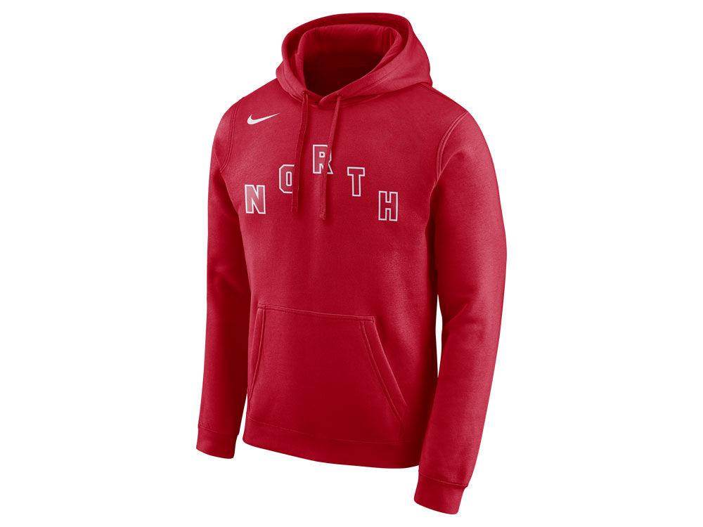 Toronto Raptors Nike 2018 NBA Men s Earned Edition Logo Essential Hoodie  ce6f075c3