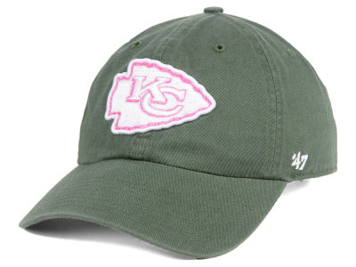 Kansas City Chiefs '47 NFL Women's Moss Glitta CLEAN UP Cap
