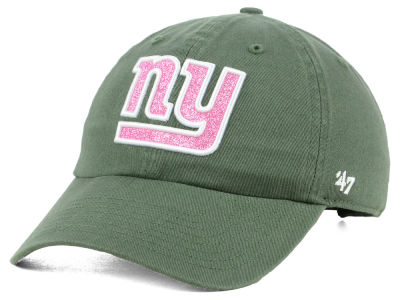 New York Giants '47 NFL Women's Moss Glitta CLEAN UP Cap