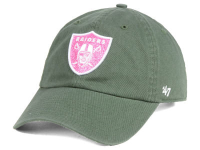 Oakland Raiders '47 NFL Women's Moss Glitta CLEAN UP Cap