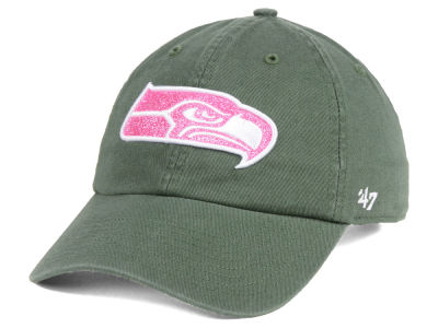 Seattle Seahawks '47 NFL Women's Moss Glitta CLEAN UP Cap