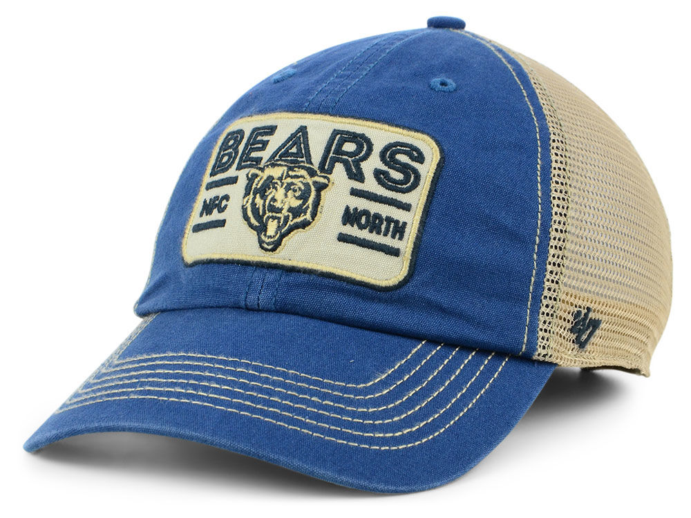 057d4b8b28c Chicago Bears  47 NFL Sallana Mesh CLEAN UP Cap