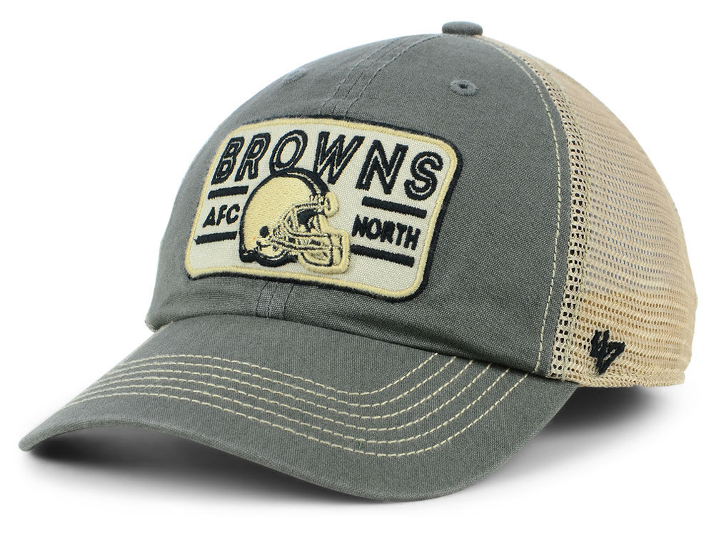 Cleveland Browns  47 NFL Sallana Mesh CLEAN UP Cap  097178d4c