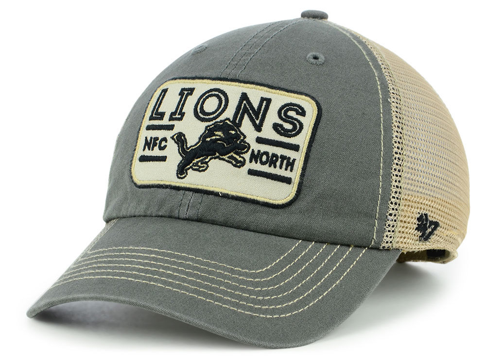 227ad6514 Detroit Lions  47 NFL Sallana Mesh CLEAN UP Cap