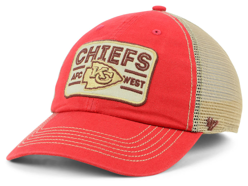 75cc9647c37 Kansas City Chiefs  47 NFL Sallana Mesh CLEAN UP Cap