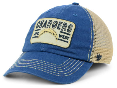 Los Angeles Chargers '47 NFL Sallana Mesh CLEAN UP Cap