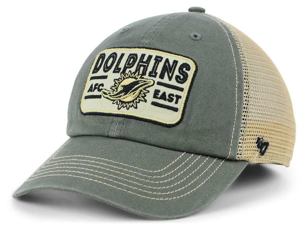 best service 01ffd 03230 ... new zealand miami dolphins 47 nfl sallana mesh clean up cap lids 7856e  6a67e