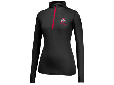 Ohio State Buckeyes Top of the World NCAA Women's Get Going Quarter Zip Pullover