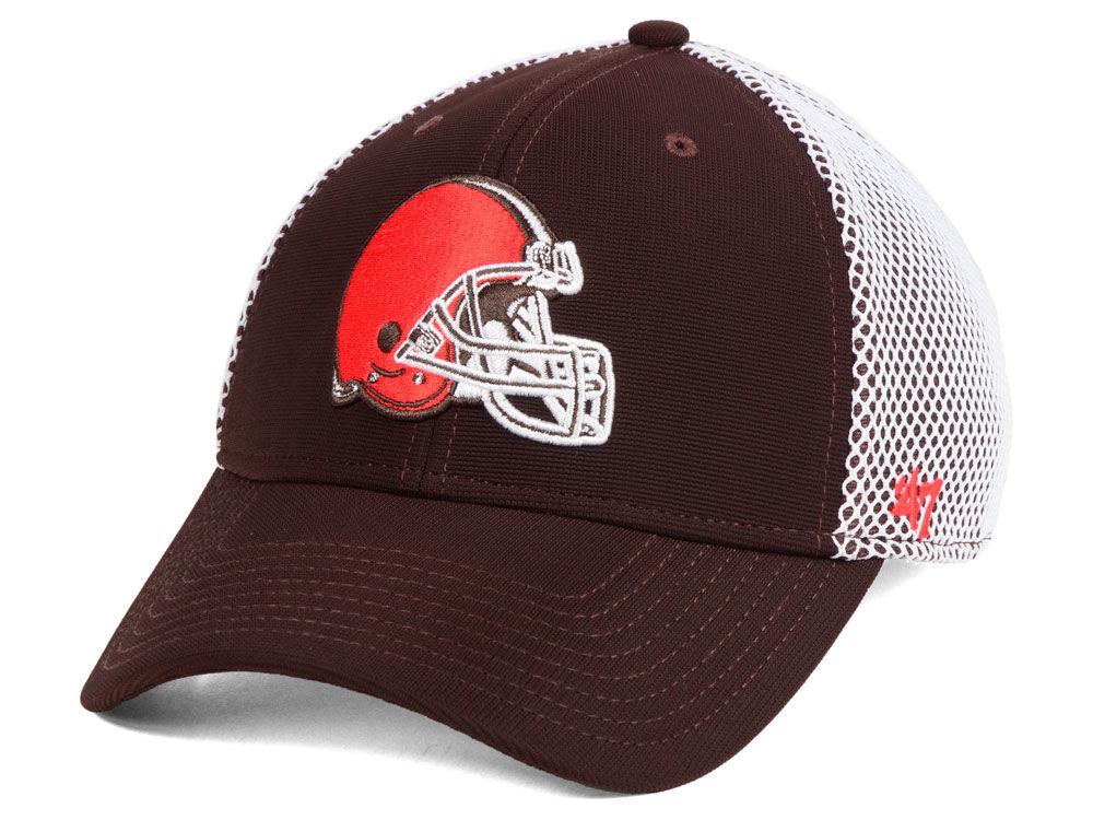 Cleveland Browns  47 NFL Comfort CONTENDER Flex Cap  29c6f99a5e1b