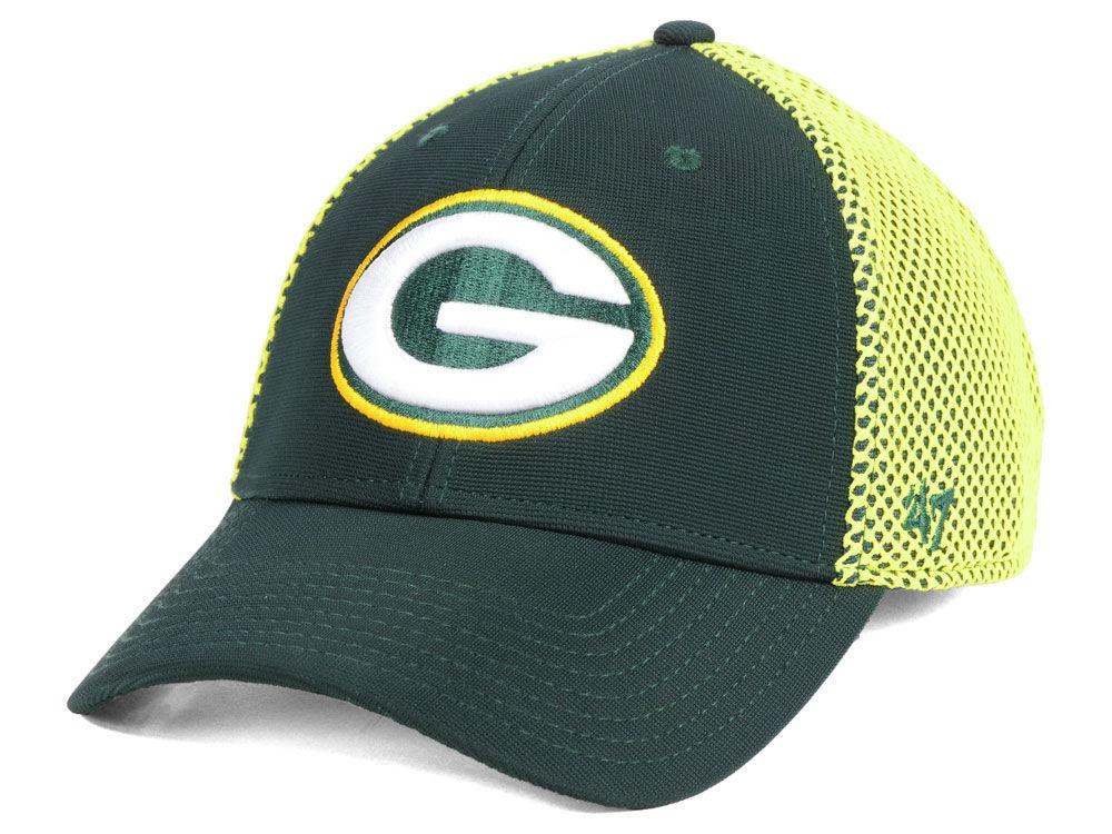 Green Bay Packers  47 NFL Comfort CONTENDER Flex Cap  46988b2e8