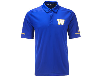 Winnipeg Blue Bombers adidas CFL Men's Climalite Polo