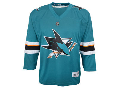 San Jose Sharks Outerstuff NHL Youth Blank Replica Jersey
