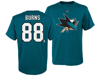 San Jose Sharks Brent Burns Outerstuff NHL Youth Player T-Shirt