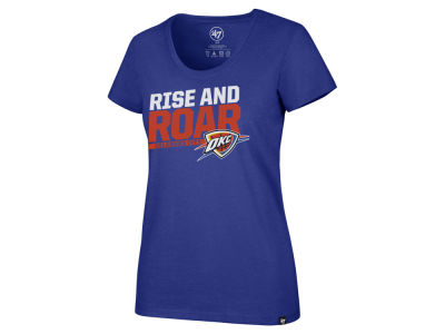 Oklahoma City Thunder '47 NBA Women's Slogan Scoop T-Shirt