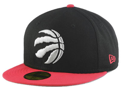 Toronto Raptors New Era NBA Basic 2 Tone 59FIFTY Cap