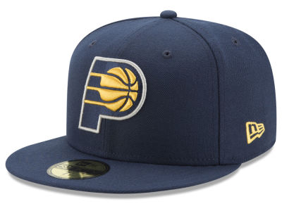 Indiana Pacers New Era 2018 NBA Basic 59FIFTY Cap