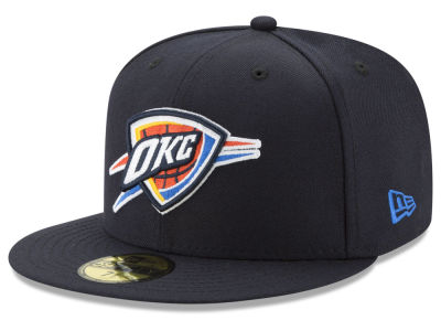 Oklahoma City Thunder New Era 2018 NBA Basic 59FIFTY Cap