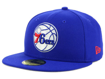 Philadelphia 76ers New Era 2018 NBA Basic 59FIFTY Cap