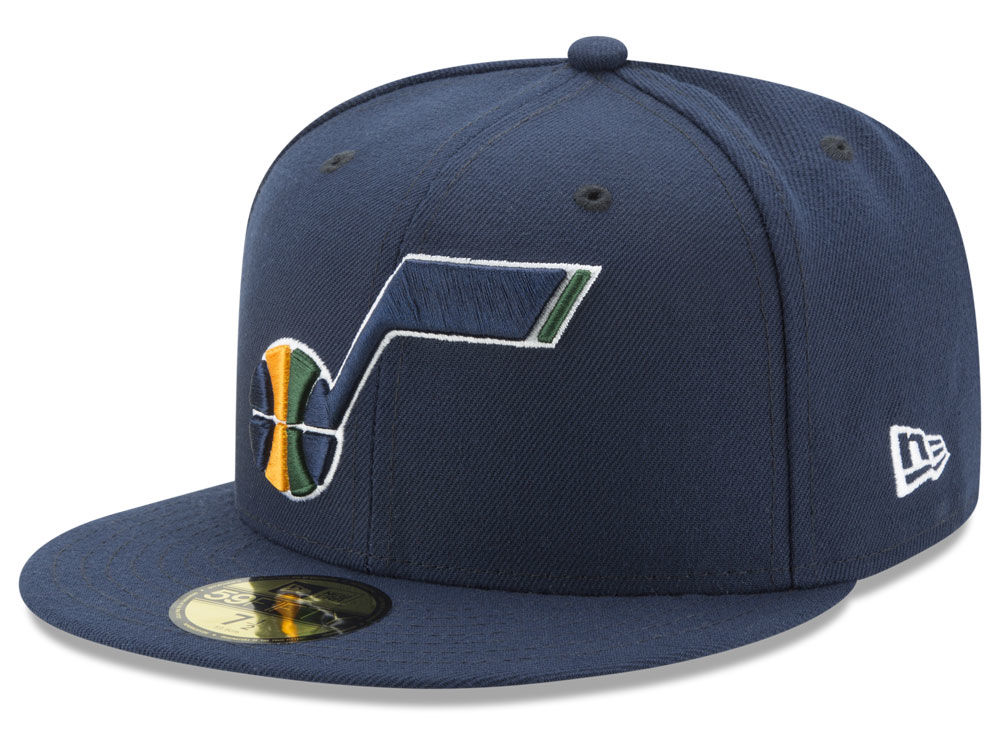 Utah Jazz New Era 2018 NBA Basic 59FIFTY Cap  c8b2690b800
