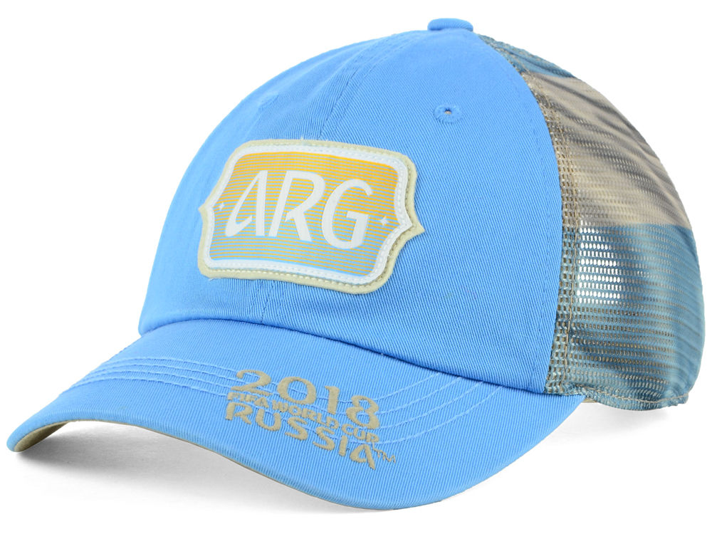 Argentina Top of the World 2018 World Cup Flagtacular Cap  620765ab6ea