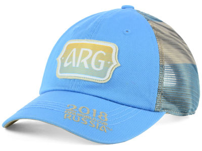 Argentina Top of the World 2018 World Cup Flagtacular Cap