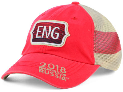 England Top of the World 2018 World Cup Flagtacular Cap