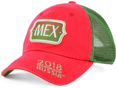 Mexico Top of the World 2018 World Cup Flagtacular Cap