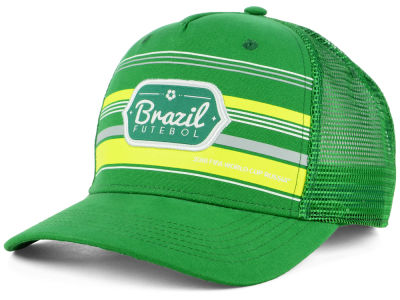 Brazil Top of the World 2018 World Cup Route Cap