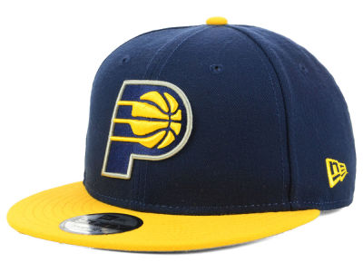 Indiana Pacers New Era NBA Basic 2 Tone 9FIFTY Snapback Cap