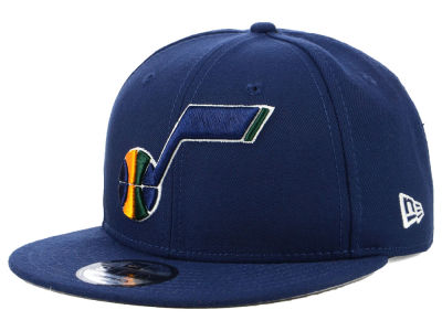 Utah Jazz New Era 2018 NBA Basic 9FIFTY Snapback Cap
