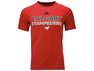 Calgary Stampeders adidas CFL Men's Rush T-Shirt
