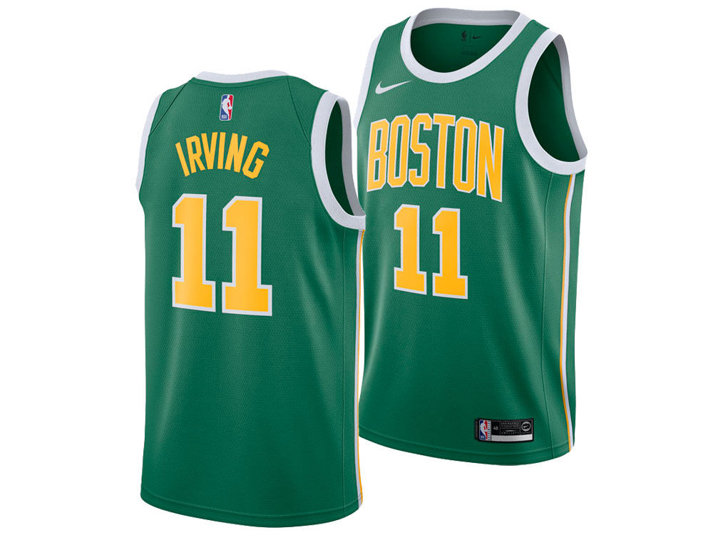 Boston Celtics Kyrie Irving Nike 2018 NBA Men s Earned Edition Swingman  Jersey  b50fb1da3