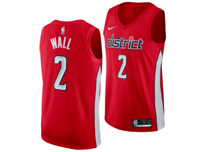 98a387253 Washington Wizards John Wall Nike 2018 NBA Men s Earned Edition Swingman  Jersey