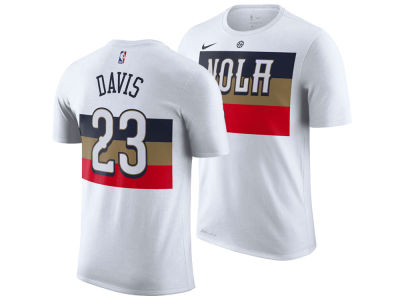 New Orleans Pelicans Anthony Davis Nike 2018 NBA Men's Earned Edition Player T-Shirt