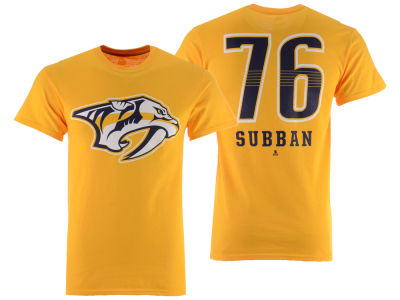 Nashville Predators P.K. Subban Majestic NHL Men's Underdog Player T-Shirt