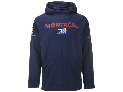Montreal Alouettes adidas CFL Men's Squad Pullover Hoodie
